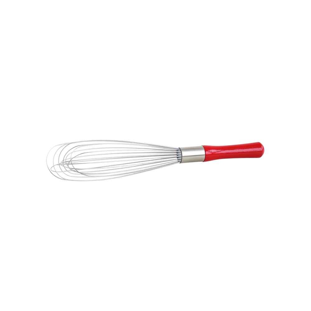 Red Wood Handle Standard French Whip
