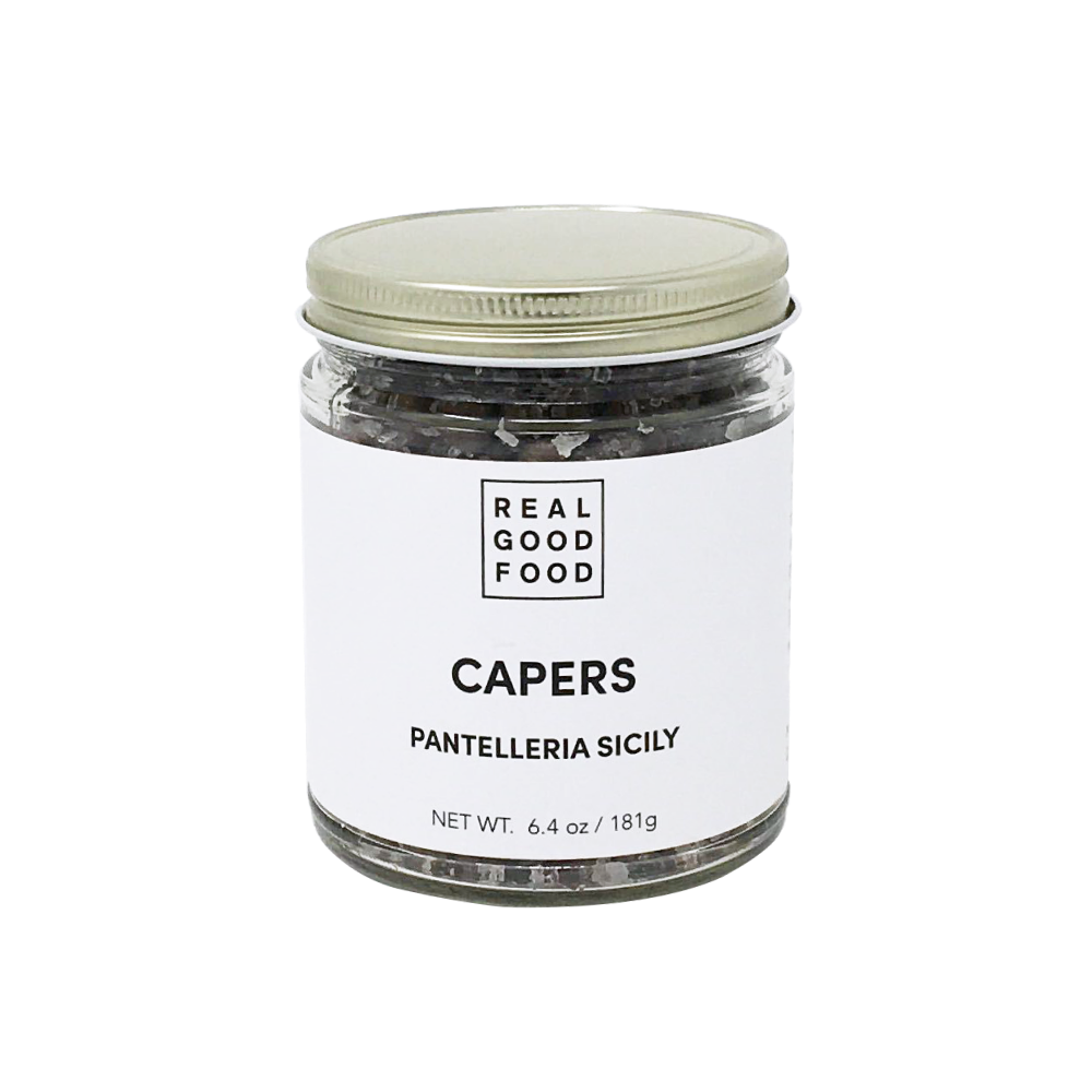 Capers in Sea Salt