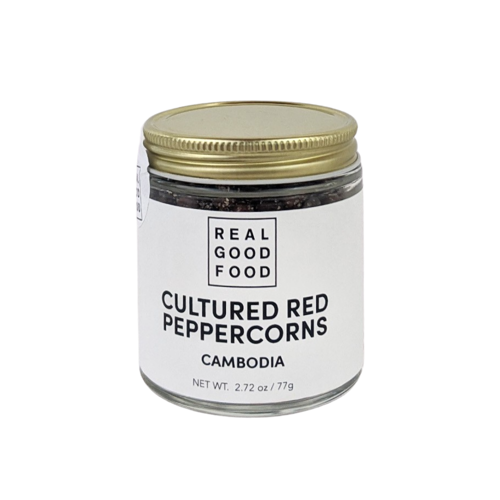 Cultured Red Peppercorns
