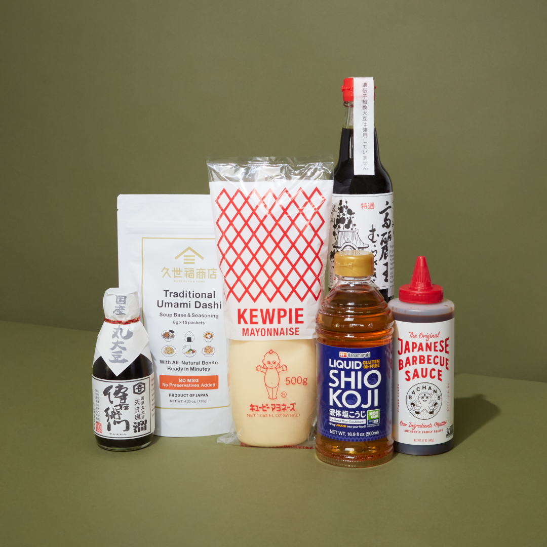 Japanese Condiment Collection