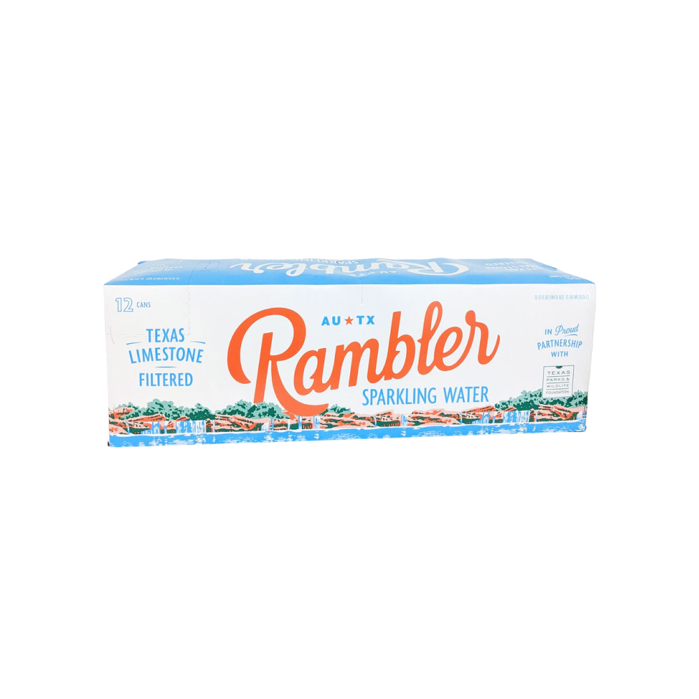 Sparkling Water - 12 pack