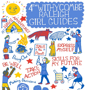 Girl Guiding Adventures and Artwork