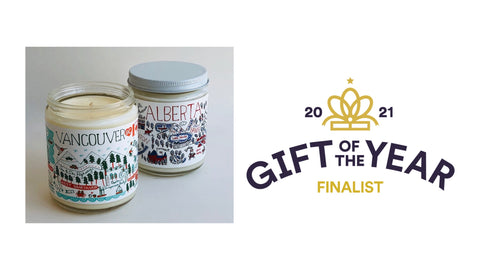 Julia Gash Candles by Lifestyle Market - Gift of the Year Award Finalist 2021