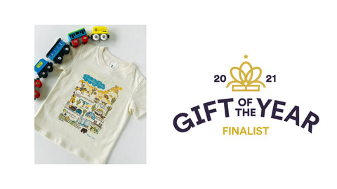 Scottsdale Childrens T-shirt by Julia Gash - Gift of the Year Award 2021 Finalist
