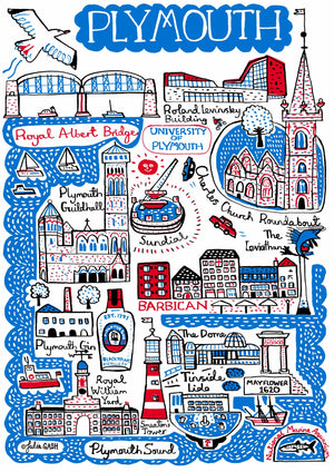 Plymouth Artwork - Julia Gash