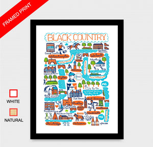 Black Country Art Print