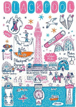 Blackpool Art Print - Julia Gash