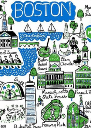 Boston Art Print - Julia Gash