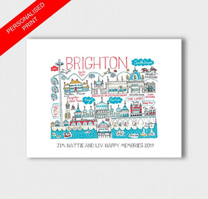 Brighton Art Print - Julia Gash