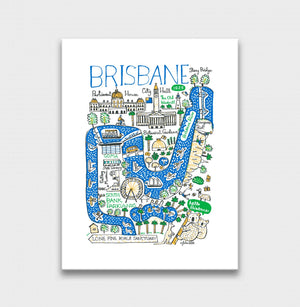 Brisbane Art Print - Julia Gash