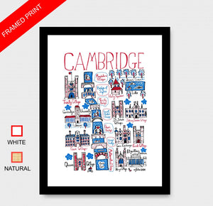 Cambridge Art Print - Julia Gash