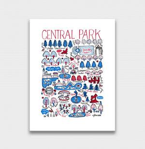 Central Park Artwork - Julia Gash
