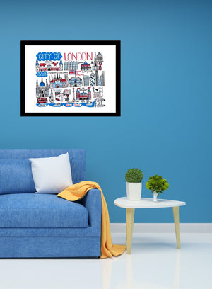 City of London Art Print - Julia Gash