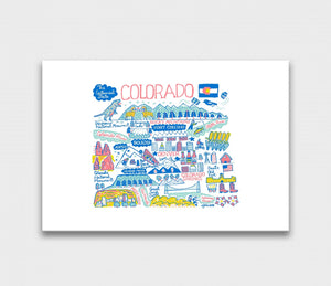 Colorado Art Print - Julia Gash