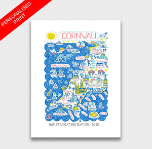 Cornwall Art Print - Julia Gash