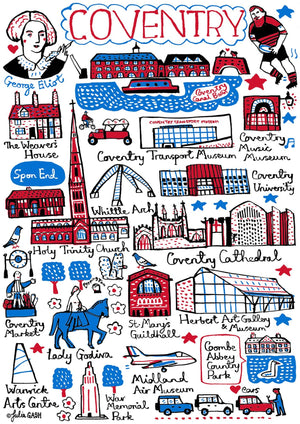 Coventry Art Print - Julia Gash