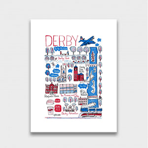 Derby Artwork - Julia Gash