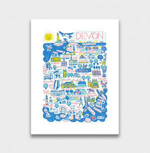Devon Artwork - Julia Gash