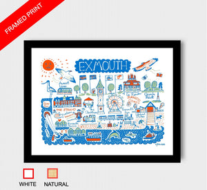 Exmouth Art Print - Julia Gash