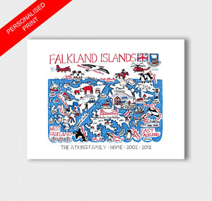 Falkland Islands Artwork