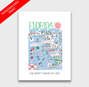 Florida Art Print - Julia Gash