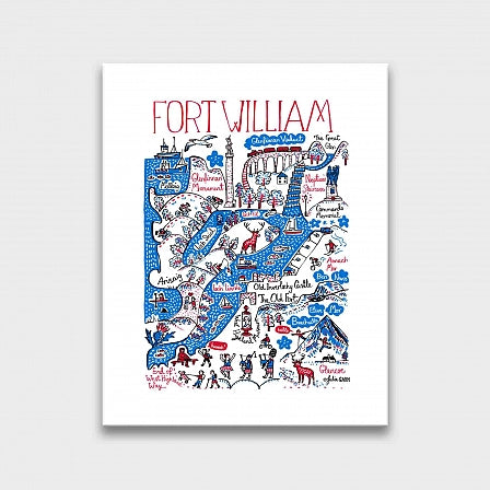Fort William Art Print - Julia Gash