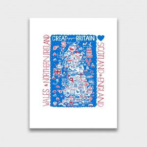 Great Britain by Dasher Artwork