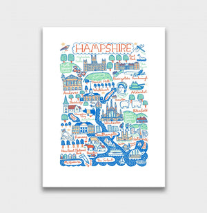 Hampshire Art Print - Julia Gash