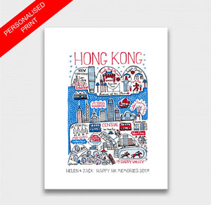 Hong Kong Art Print - Julia Gash