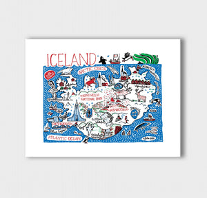 Iceland Artwork - Julia Gash