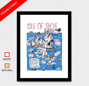 Isle of Skye Art Print by British Travel Artist Julia Gash - Julia Gash