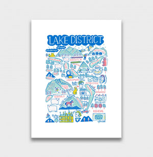 Lake District Art Print - Julia Gash