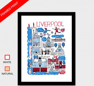 Liverpool Art Print - Julia Gash