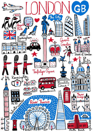 London Art Print - Julia Gash