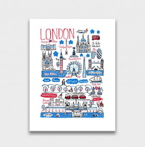 London and The South Artwork - Julia Gash