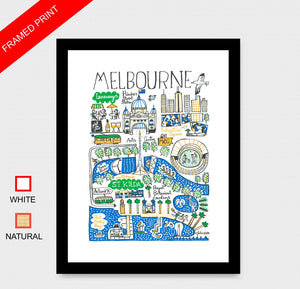 Melbourne Art Print - Julia Gash