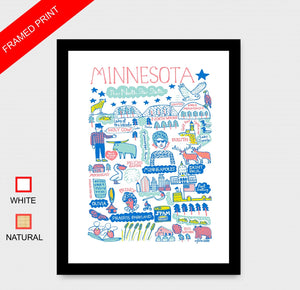 Minnesota Art Print - Julia Gash