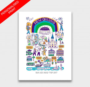 New Orleans Art Print - Julia Gash