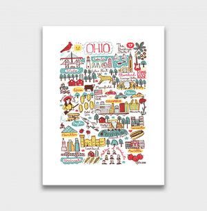 Ohio Art Print - Julia Gash