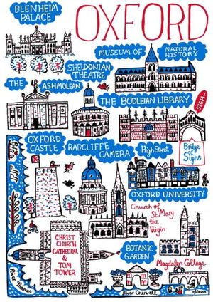 Oxford Artwork - Julia Gash