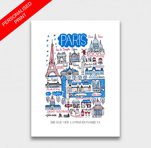 Paris Art Print - Julia Gash