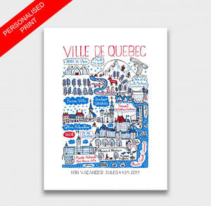 Quebec Art Print - Julia Gash