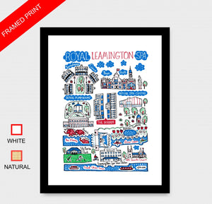 Leamington Spa Art Print - Julia Gash