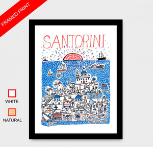 Santorini Artwork