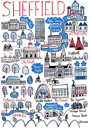 Sheffield Art Print - Julia Gash