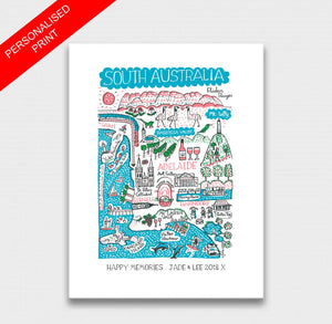 South Australia Art Print - Julia Gash