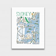 Sydney Artwork - Julia Gash