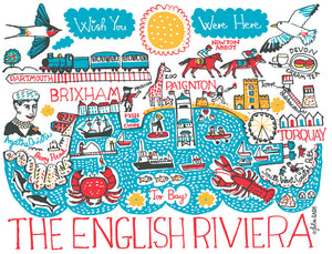 English Riviera Artwork - Julia Gash