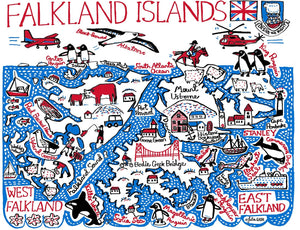 Falkland Islands Art Print - Julia Gash