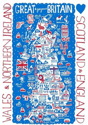 Great Britain by Dasher Artwork - Julia Gash